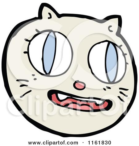 450x470 Cat Face Clipart