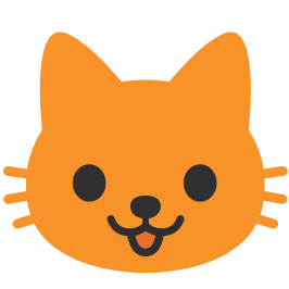 266x266 Emoji Android Cat Face