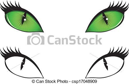 450x295 Cat Eyes Clipart