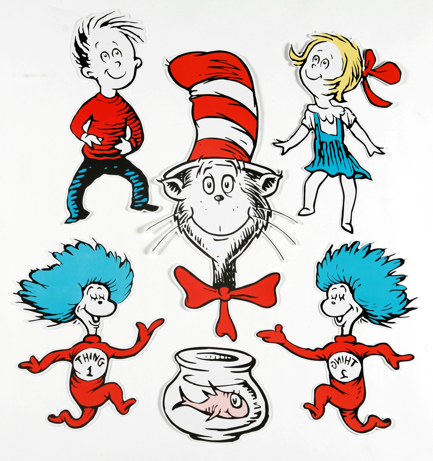 1410x1500 Cat In The Hat Dr Seuss Character Clipart Image