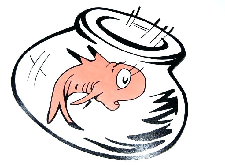 736x539 Cat In The Hat Coloring Pages Fish Dr Seuss Inspired Goldfish