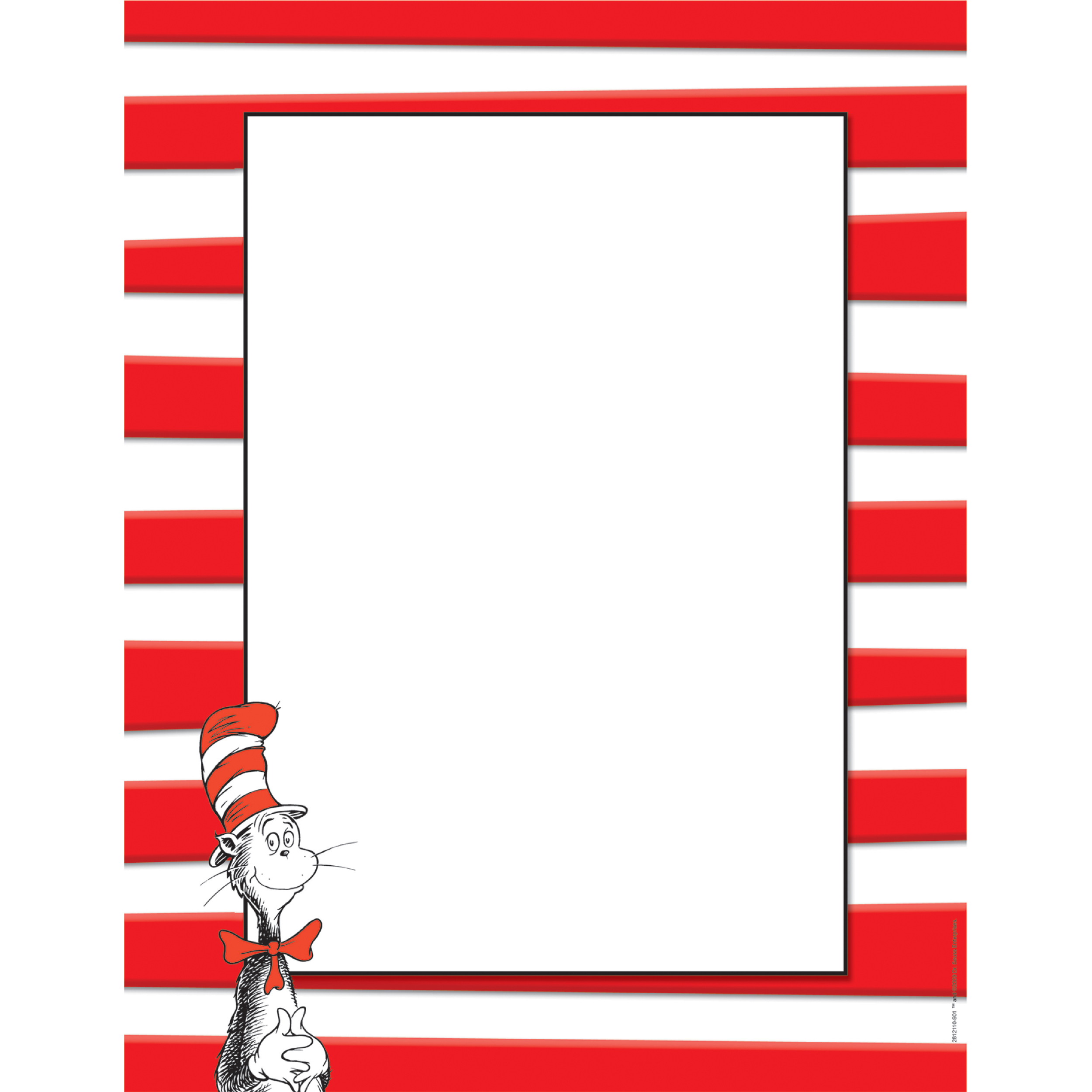 2500x2500 Dr. Seuss The Cat In The Hat Computer Theme Paper Eureka School
