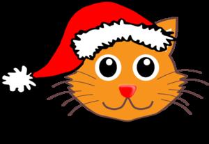 300x207 Santa Cat Clipart Amp Santa Cat Clip Art Images