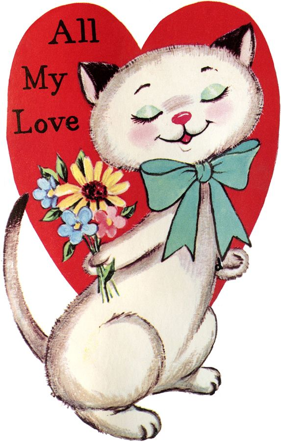 573x900 141 Best Valentine's Day Cats Images On Kitty Cats