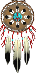 123x250 Clip Art 1 Native American Inspired