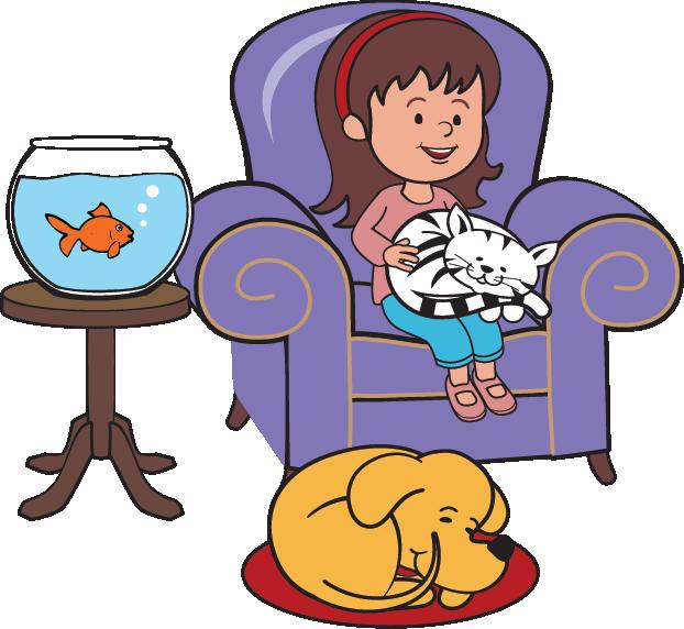 622x572 Pet Sitting Cat Dog Clip Art