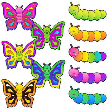 350x350 Butterfly Life Cycle Clip Art Sequence By Dancing Crayon Designs