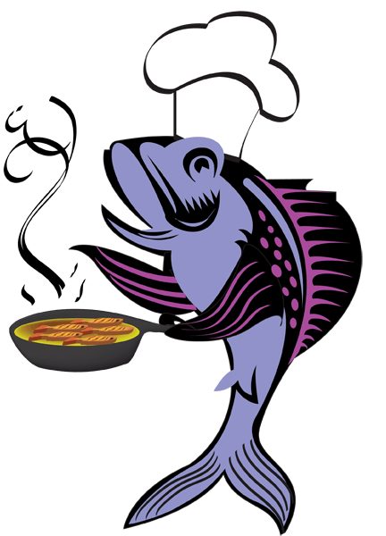 432x600 Fast Fish Cliparts
