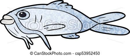 450x196 Cartoon Catfish Clipart Vector