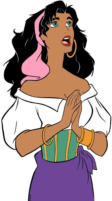 387x692 Esmeralda Clip Art Disney Clip Art Galore