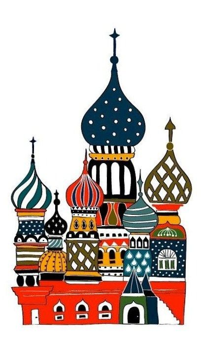 408x686 Picture Of St. Basil's Cathedral In Moscow,