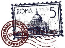 220x165 The Vatican Clipart The Vatican Rome St Peters Cathedral Royalty
