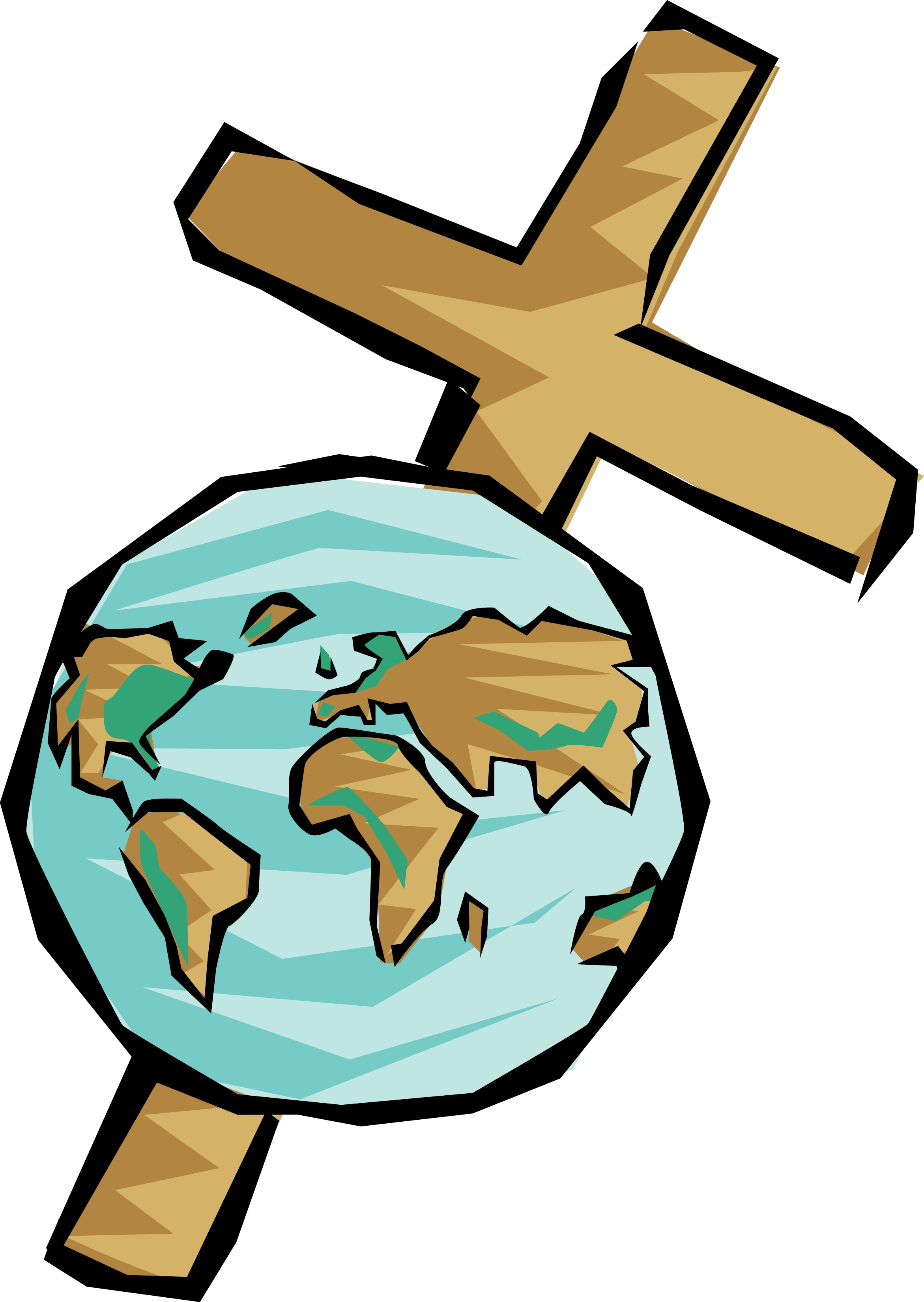 Catholic Cross Clipart