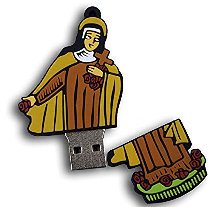 425x413 Saint Therese Of Lisieux Usb Flash Drive 8gb Catholic