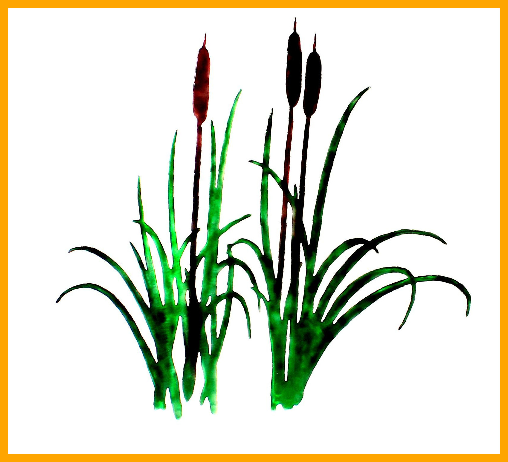 1699x1543 Coloring Page Of Cattails