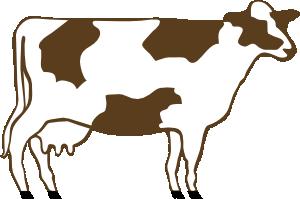 300x199 Cow Clip Art Free Vector 4vector