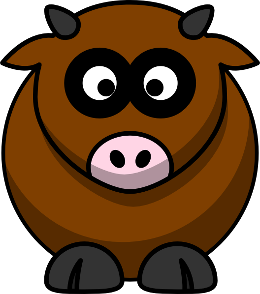 528x598 Brown Clipart Cattle