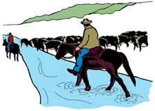 225x162 Cattle Clipart Cattle Drive Free Collection Download And Share