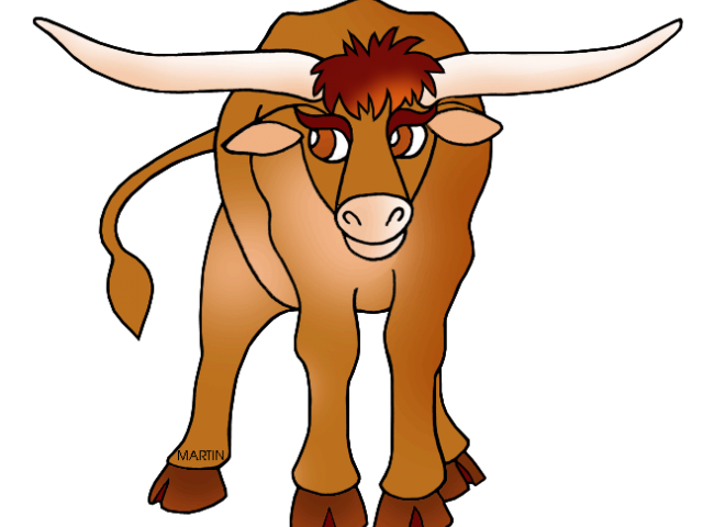 640x480 Longhorn Cattle Clipart Cattle Drive