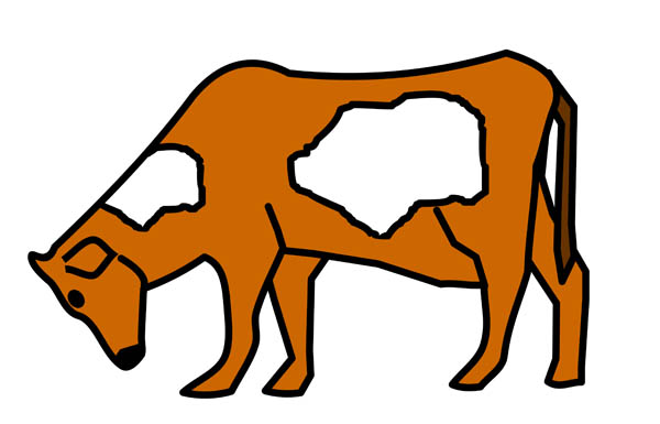 600x385 Collection Of Cattle Grazing Clipart High Quality, Free