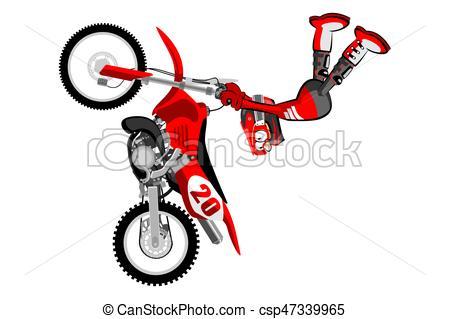 450x319 Motocross, Cavalier, Sur, Backgrorund, Blanc, Style