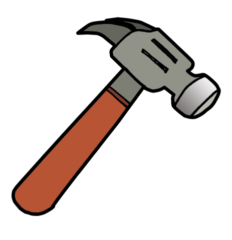 463x480 Homely Design Hammer Clipart The Graphic Cave Vector And Png Free