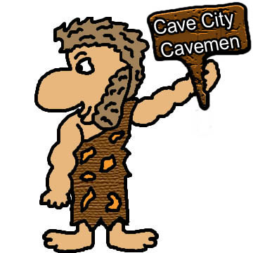 360x360 Cave City Caveman Glitter Graphics And Animation Gif