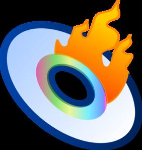 282x297 Burn Cd Clip Art