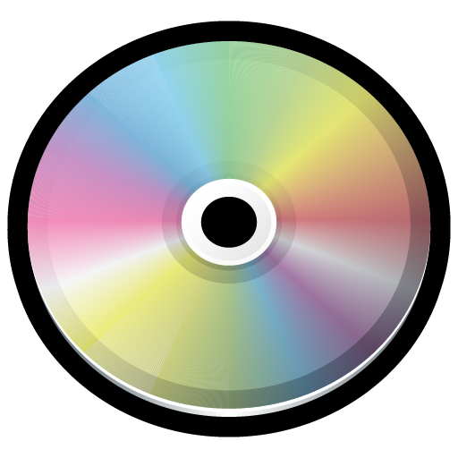 512x512 Cd Icon Gloss Mac Iconset Hopstarter