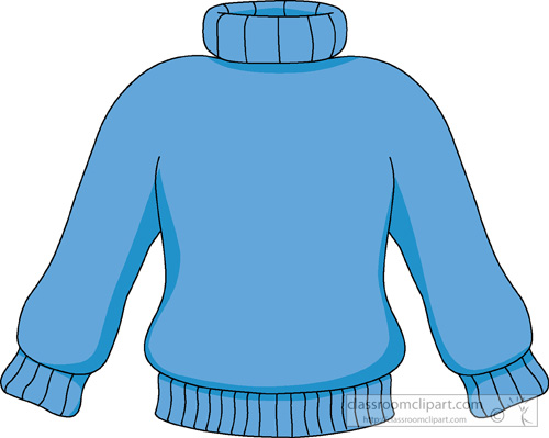 500x399 Clip Art Turtle Neck Sweater Clipart