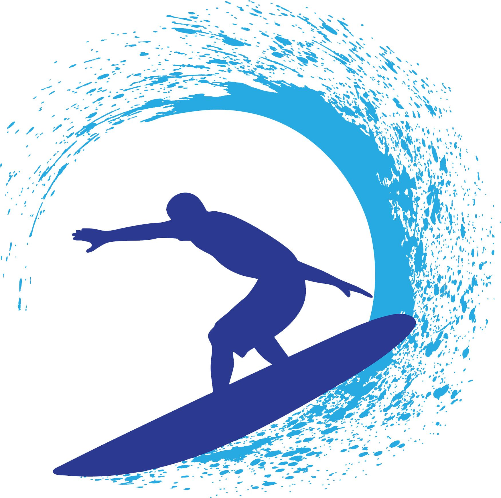 1750x1741 Create Surfer Designs Using The Clip Art From The Decorating