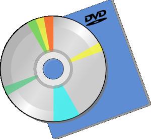 300x277 Dvd Disc Clip Art Free Vector 4vector
