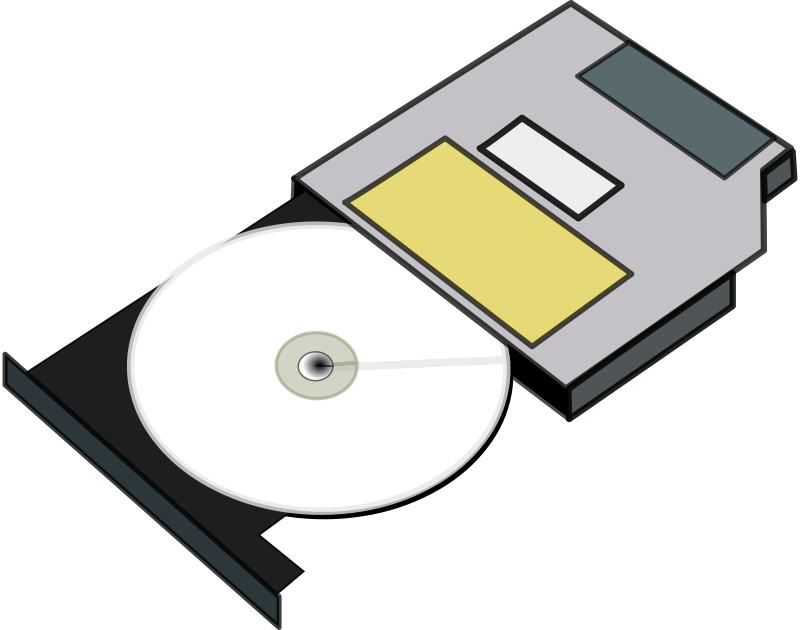 800x630 Free Clipart Slim Cd Drive Anonymous