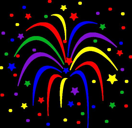 550x532 Celebration Fireworks Clip Art Fireworks Animations Clipart
