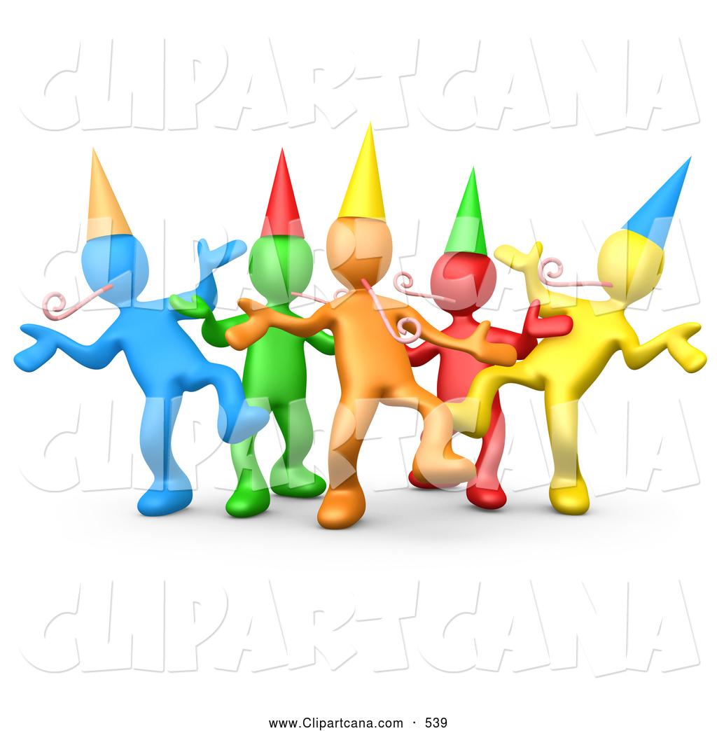 1024x1044 Group Celebration Clipart