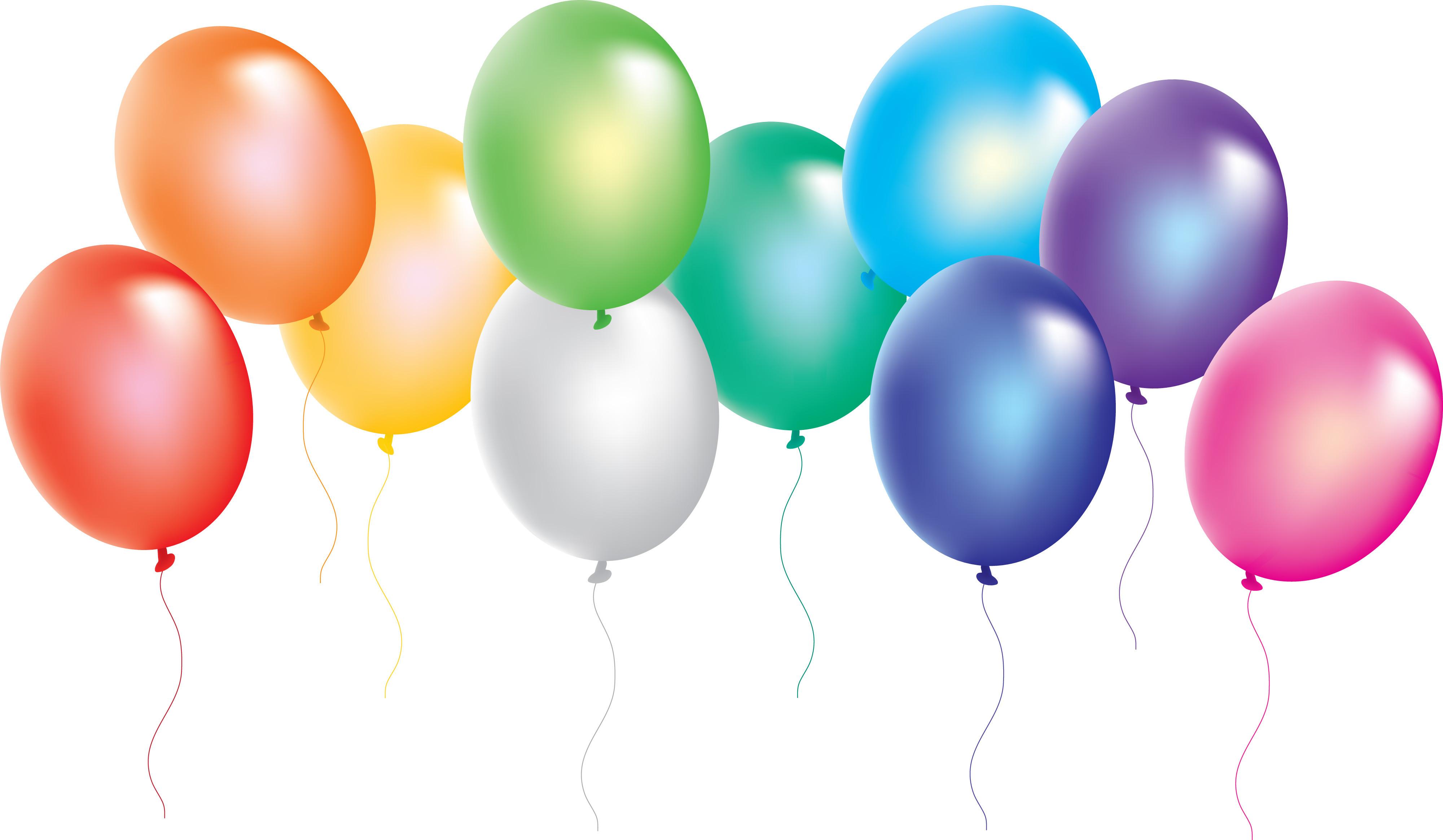 4000x2329 Balloon Clipart Celebration