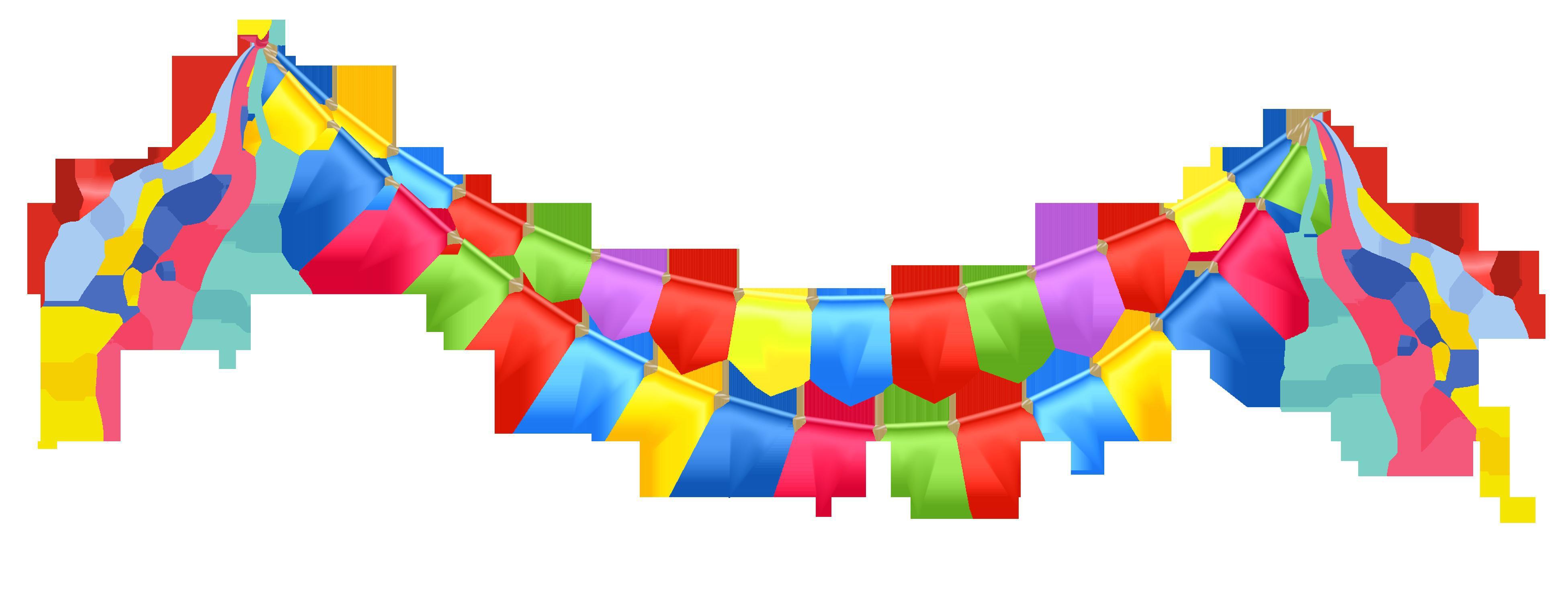 3902x1473 Birthday Party Banner Clip Art Unique Celebration Clipart