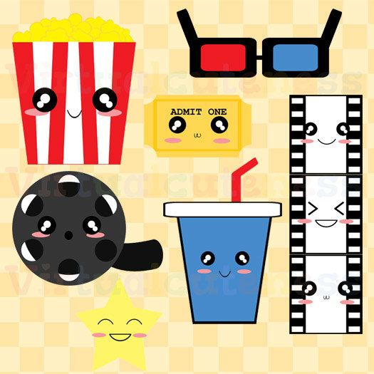525x525 Celebrity Clipart Movie Time