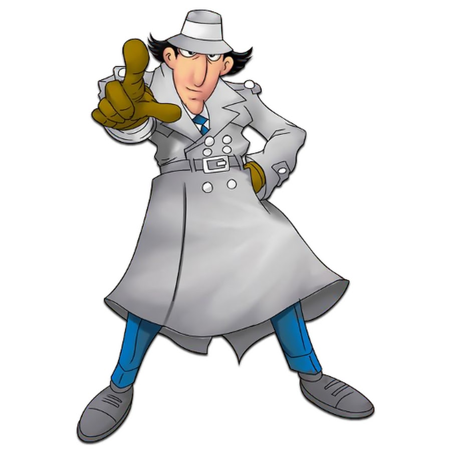 900x900 Animated Inspector Gadget Clipart