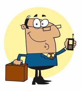 268x300 Businessman Clipart Image