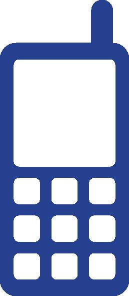 258x591 Icon Mobile Phone Clip Art