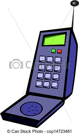 277x470 Old Cell Phone Clipart