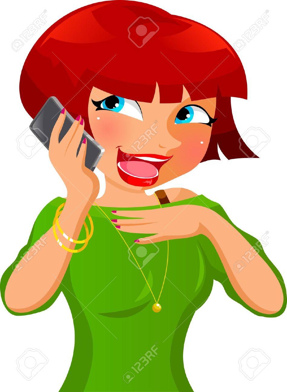 950x1300 Talking On Phone Clipart 101 Clip Art