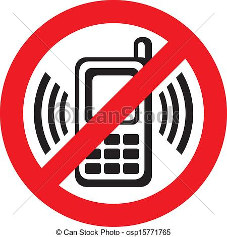 450x470 No Cell Phone Clip Art Vector No Cell Phone Sign Warning Sign