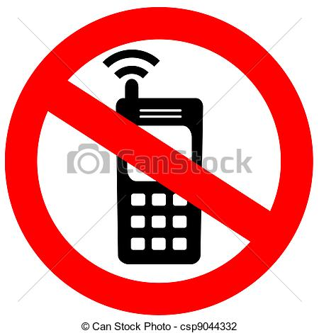 450x470 No Cell Phone Clipart Black And White Free Clipart Cell Phone Clip