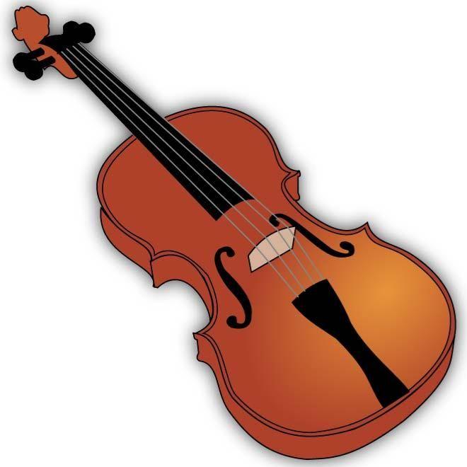 660x660 Violin Clip Art Image Homeschool Room Art Images