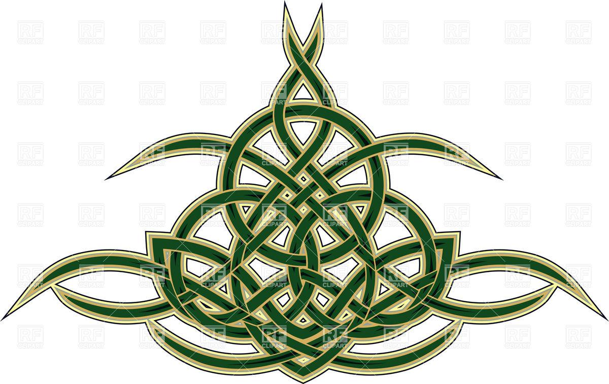 1200x757 Elegant Decorative Celtic Ornament