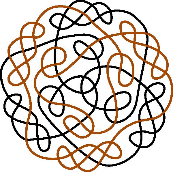 600x596 Celtic Knot Clipart