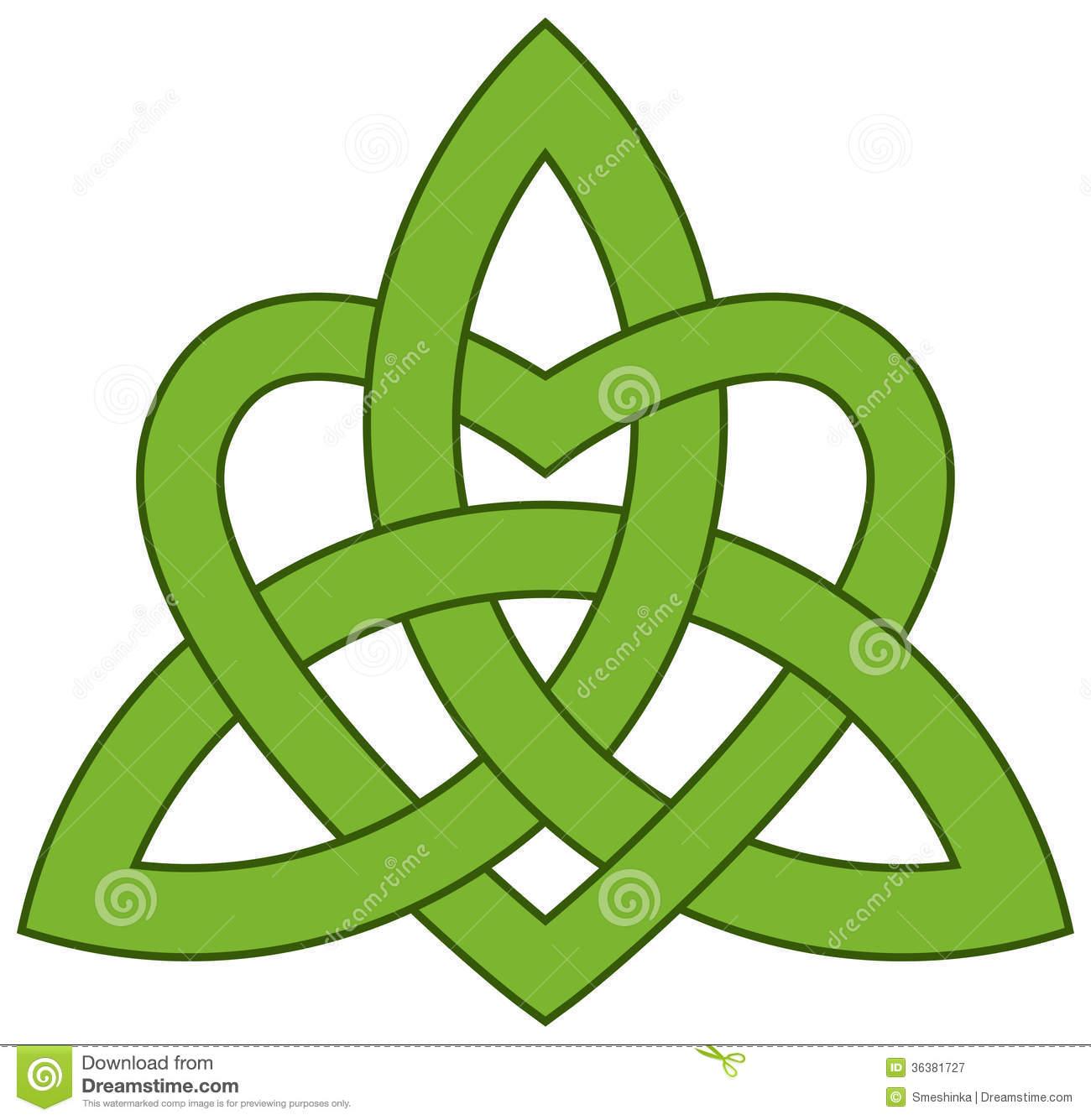 1300x1335 Celtic Trinity Knot Clipart