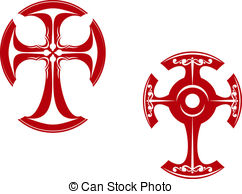 242x194 Celtic Cross Vector Vector Clipart Royalty Free. 3,777 Celtic